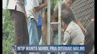 vuclip Intip Wanita Mandi, Seorang Pria Masuk Kubangan Lumpur Limbah Rumah Warga - BIM 16/03