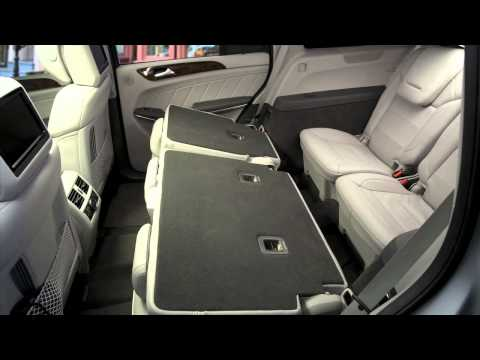 GL-Class Interior Features -- Mercedes-Benz Full-Size SUV