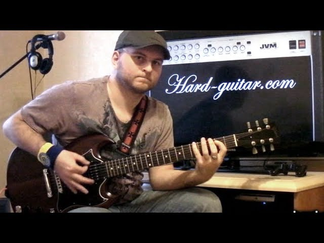 Scorpions Rock You Like a Hurricane Guitar Lesson (how to play ...