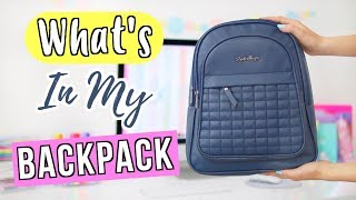 What's In My Backpack & Emergency Kit 2018 | Ellen Kelley