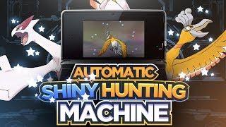 Automatic Shiny Hunting Machine | Pokemon Shiny Hunting | Hacking or Legit?