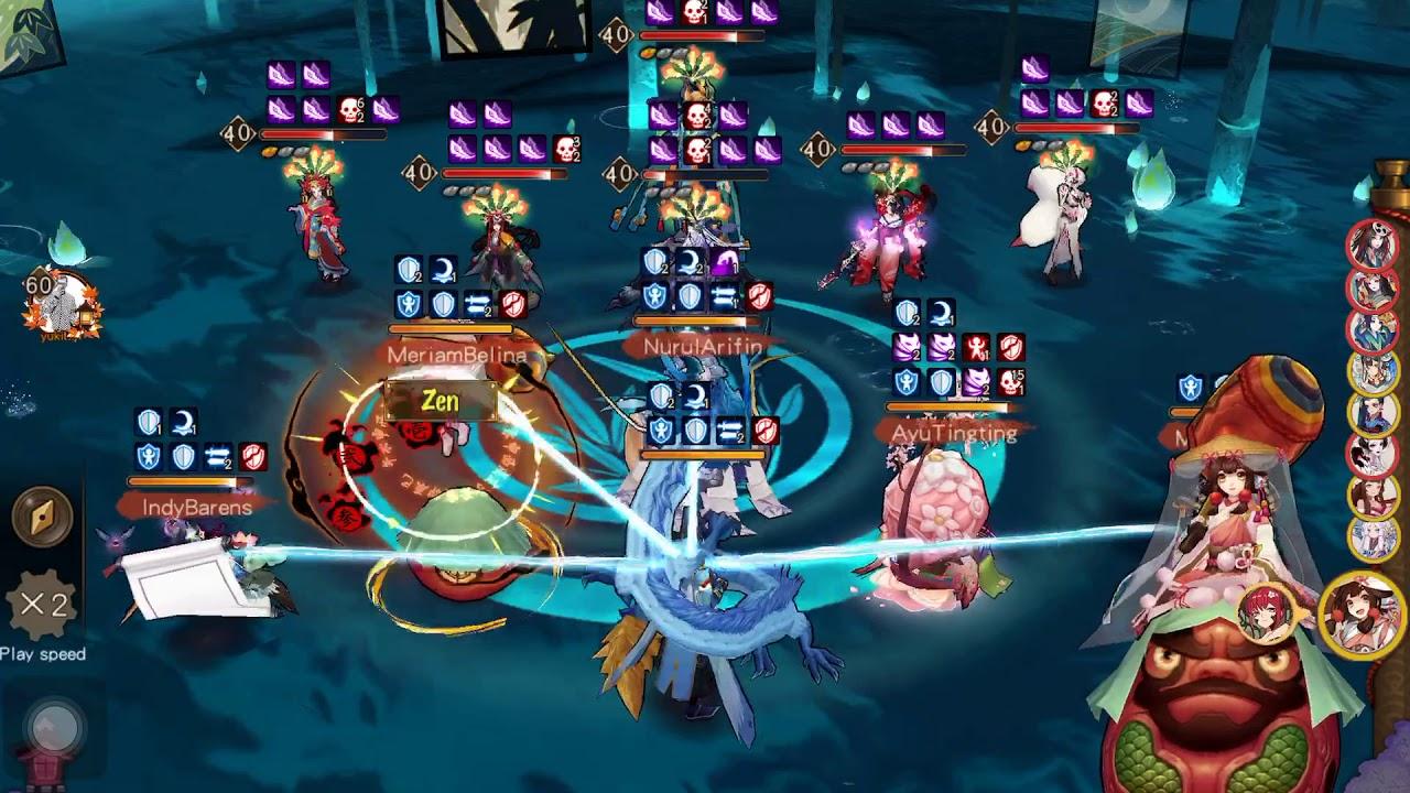 Onmyoji Global Server - Higanbana Secret Zone Stage 10