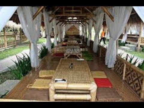 Desain Rumah Makan Lesehan Cantik Dari Bambu  YouTube