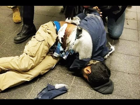 Alleged Times Square Terrorist Captured Alive (VIDEO)