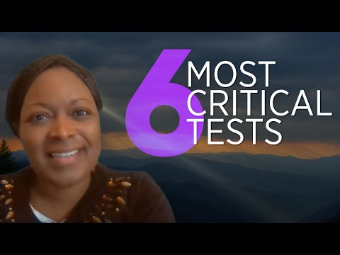 ➡ 6 Most CRITICAL TESTS You Need To Know!!! #JESUS