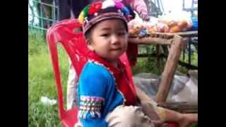 ปะหล่อง บ้านนอแล ดอยอ่างขาง Palong Hill Tribe Village Doi Ang Khang Chiang Mai
