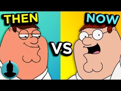 Family Guy - Then VS. Now - Evolution of Family Guy (Tooned Up S3 E39)
