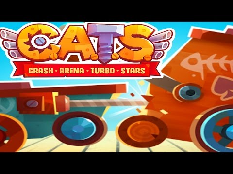 BOUNCED OFF THE MAP! - C.A.T.S. Crash Arena Turbo Stars