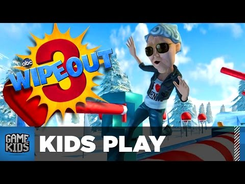 WIPEOUT 3 Family Battle Part 1 - Kids Play