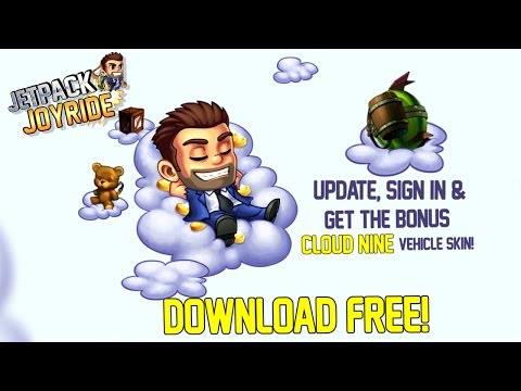 Jetpack Joyride - Welcome to The Cloud!