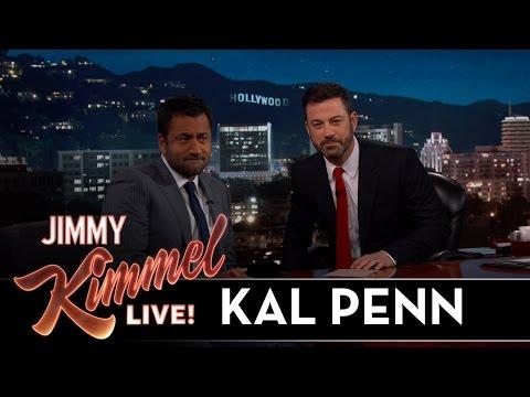 Jimmy Kimmel and Kal Penn Look a LOT Alike