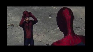 THERI TAMIL MOVIE TRAILER REMIX|THE AMAZING SPIDERMAN 2 VERSION