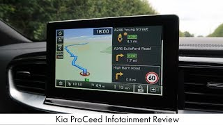Kia ProCeed Infotainment Review