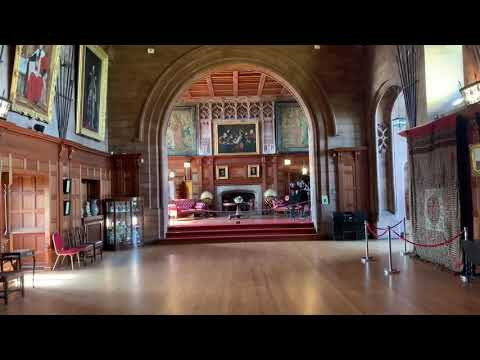 Come For A Virtual Tour Video Around Bamburgh Castle In Northumberland's King's Hall