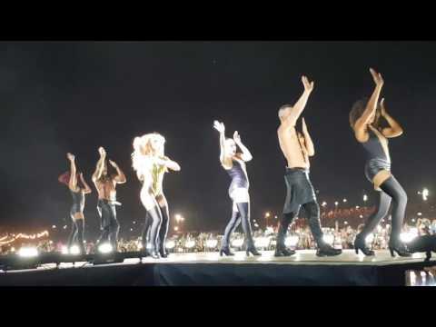 Britney Spears live in Tel Aviv - Work Bitch + Womanizer + Break the ice + Piece of me