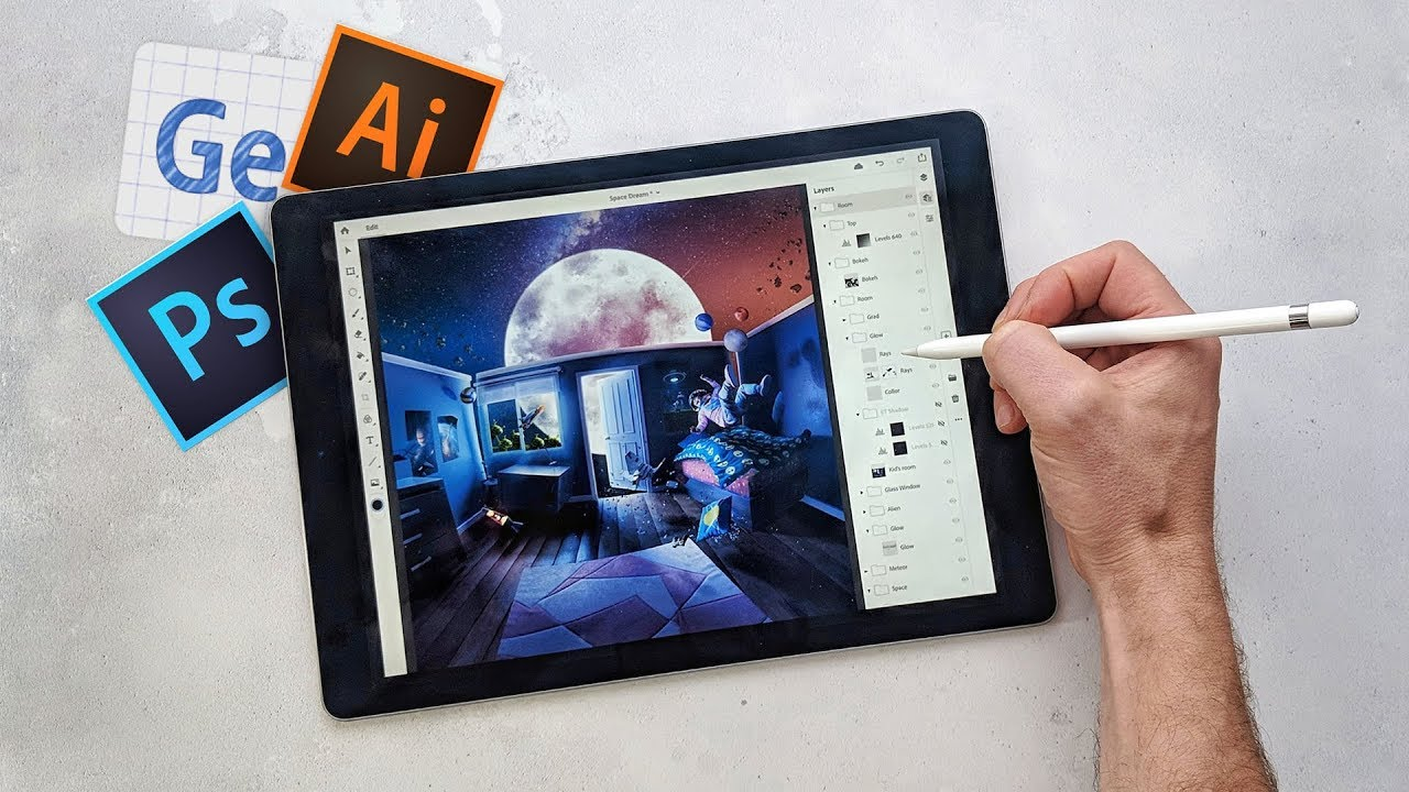 Adobe MAX Reactions: Photoshop for iPad & Project Gemini!