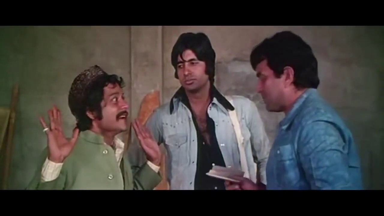 Jagdeep's Historic Comedy Scene from Sholay || सूरमा ...