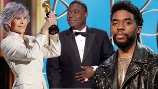 Golden Globes 2021 MUST-SEE MOMENTS: Chadwick Boseman's Win, Technical Difficulties and More