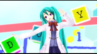 【MMD】 どういうことなの!?/What Do You Mean !?【3xma Science girl Miku】