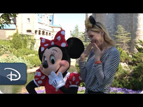 Actress Geena Davis Visits Walt Disney World Resort