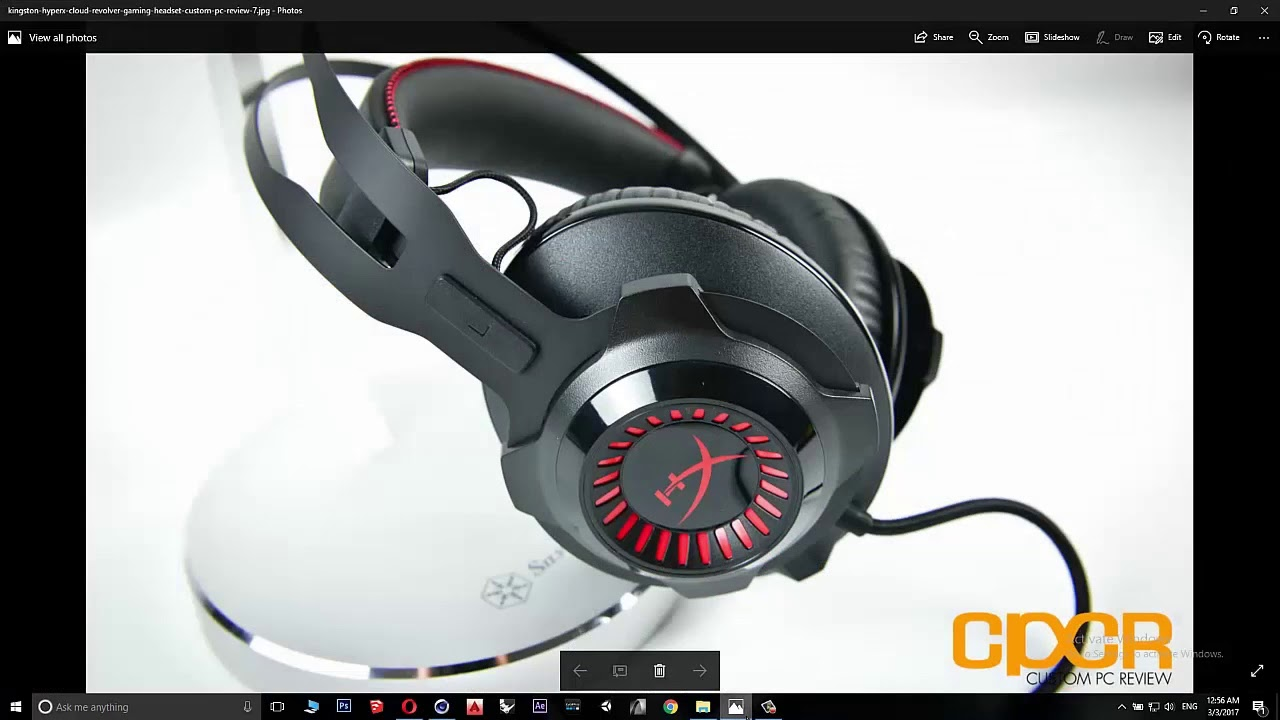 Cinema 4D - HyperX Cloud Revolver Headset - 3D modeling