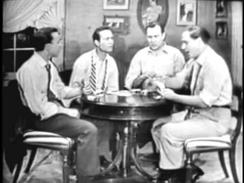 SID CAESAR: The Poker Game [THE HICKENLOOPERS] (YOUR SHOW OF SHOWS - VERY rare sketch)