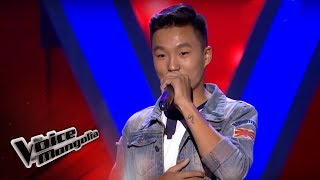 Munkh-ErdeneI - Sixteen tons - Blind Audition - The Voice of Mongolia 2018
