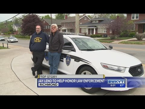 Leno helping law enforcement