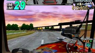 Eighteen 18 Wheeler Gameplay Sega Dreamcast
