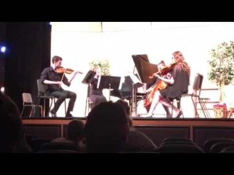 Caroline's quartet at VSAA