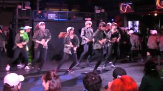 Newschool Hip Hop number / Beat impact vol.20 東洋大学ダンスサークル Snow Dancer 新歓イベント