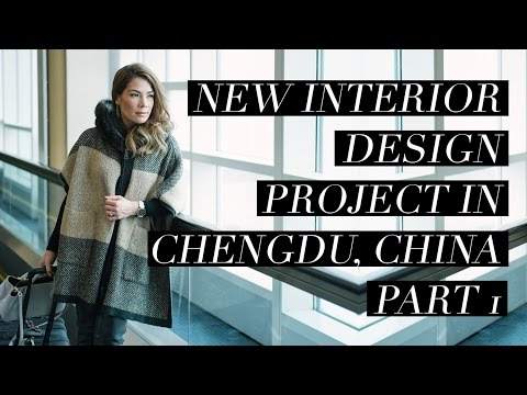 New Interior Design Project In ChengDu, China: Part 1