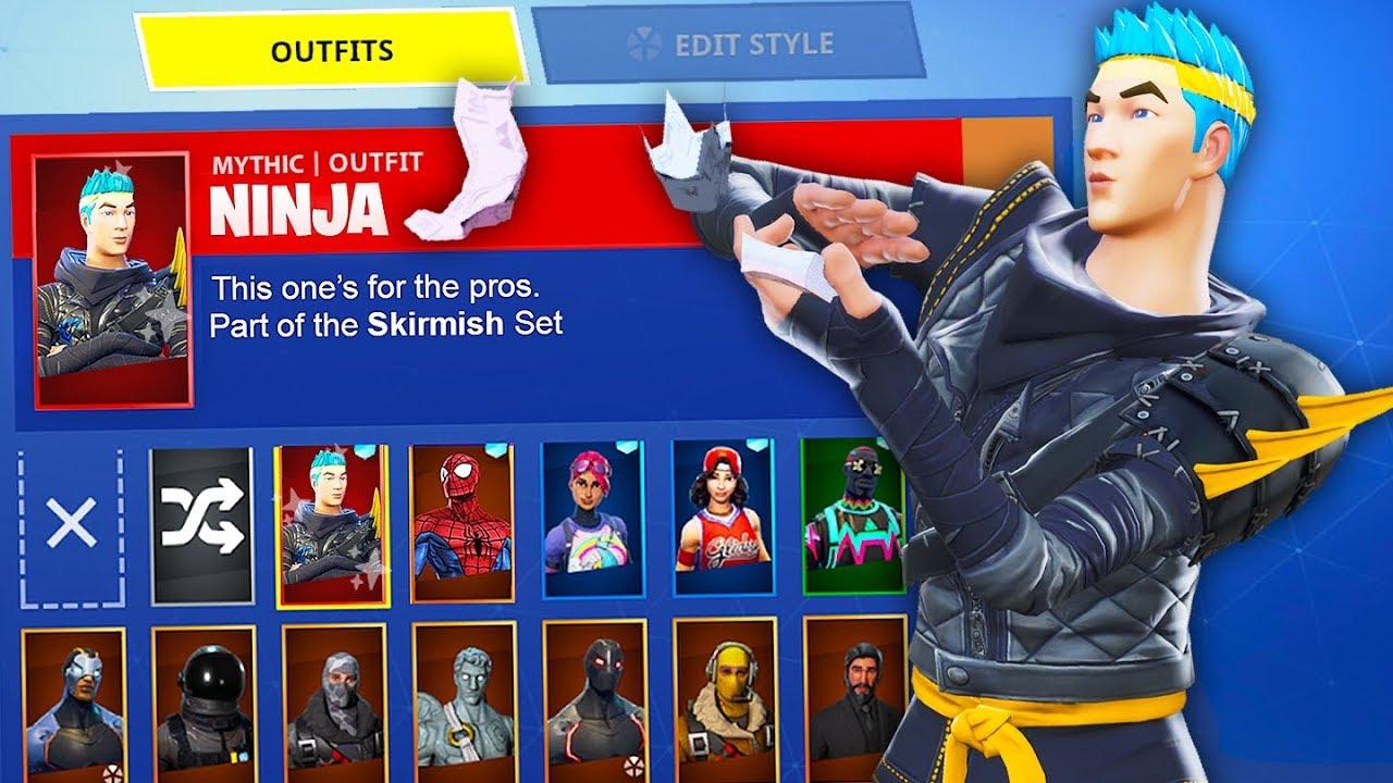 FORTNITE *NEW* NINJA SKIN HACK?! (Battle Royale Custom Skin Mod)
