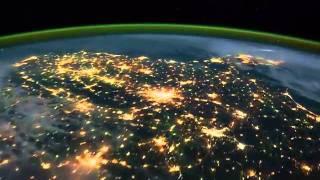 فيديو رائع الكره الارضيه بشكل مباشر من الفضاء. YouTube