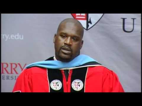 Shaq Earns Doctorate Degree in Education in Fla.