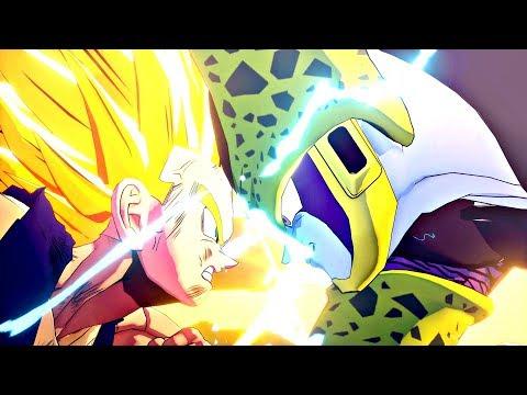 Dragon Ball Z: Kakarot - Gohan vs Perfect Cell Full Fight (PS4 Pro)
