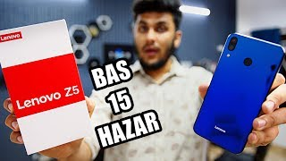 Phone Ho Toh Aisa! - Lenovo Z5 Unboxing & First Look!