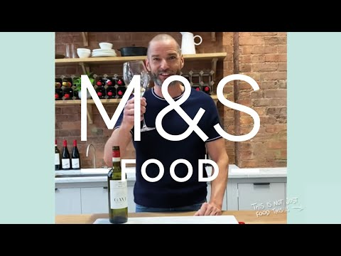 A taste of Fred Sirieix (and our Gavi)...   M&S FOOD