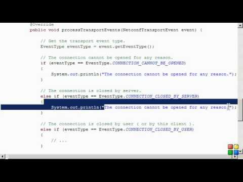 Netconf4Android Quickstart Step 5 Video 1