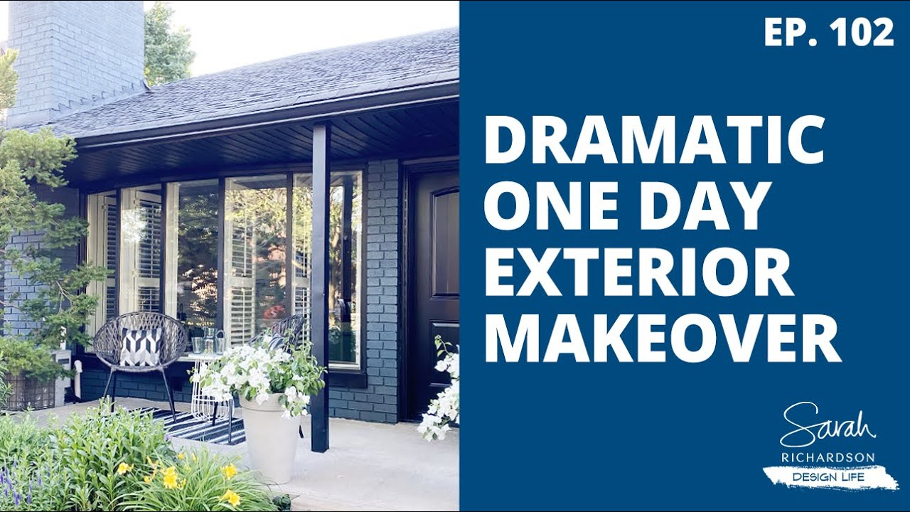 Design Life: A Dramatic One Day Exterior Makeover! (Ep. 102)