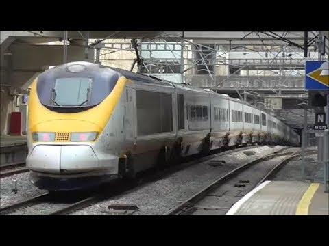 Trains @ Stratford International Station - 14th September 2017