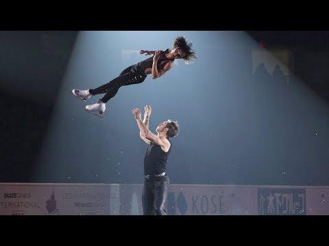 Canadian pairs figure skaters explain the difficult triple twist lift