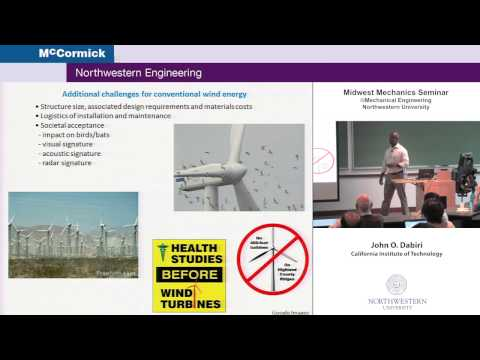 Midwest Mechanics Seminar Presents John Dabiri: Bio-Inspired Wind Energy