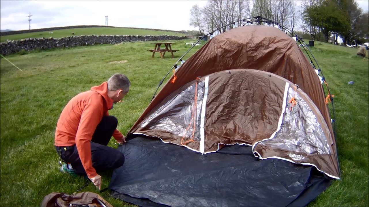 Building the Slumit Grizzly Tent & Building the Slumit Grizzly Tent - YouTube