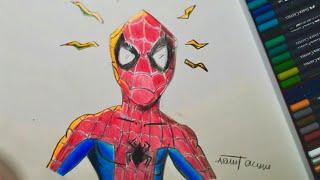 örümcek Adam Kolay çizim