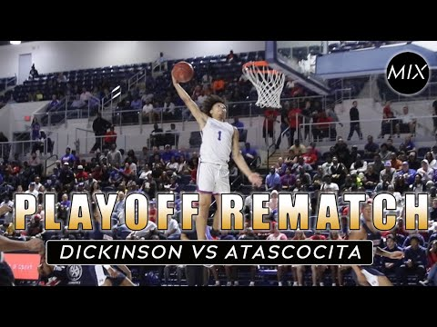 A Playoff Battle | Dickinson Vs Atascocita | Texas High School Basketball Playoffs