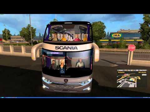 Euro Truck Simulator 2 Thailand   ModBus V4  MAP Scandinavia