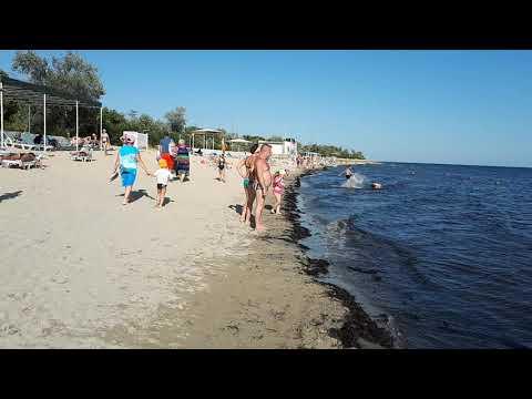 Крым, санаторий Маяк, пляж.