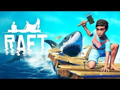 RAFT SURVIVAL! UM JOGO DIFERENTE, BONITO E DIVERTIDO! GAMEPLAY DE ANALISE