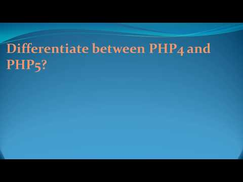 Latest php interview Questions 2017-Data Council/Best PHP classes in Pune